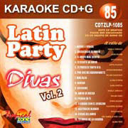 TROPICAL ZONE LATIN PARTY LP1085 Divas Vol. 2