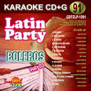 TROPICAL ZONE LATIN PARTY LP1091 Boleros Vol. 3