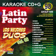 TROPICAL ZONE LATIN PARTY LP1098 Los Mejores Duos Vol.2