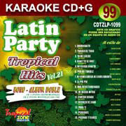 TROPICAL ZONE LATIN PARTY LP1099 Tropical Hits Vol. 21
