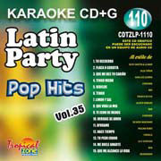 TROPICAL ZONE LATIN PARTY LP1110 Latin Party Pop Hits Vol. 35