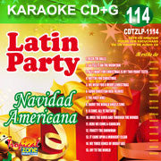 TROPICAL ZONE LATIN PARTY LP1114 Navidad Americana