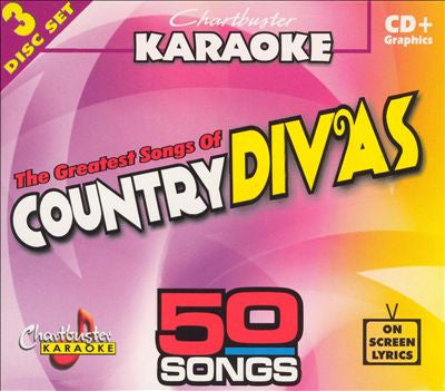 Chartbuster 50 Songs Pack CB5042R2 2004 Female Country