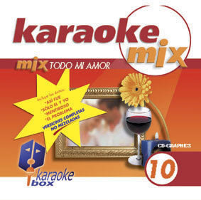 Karaoke Box Mix Series MIX010 Todo Mi Amor