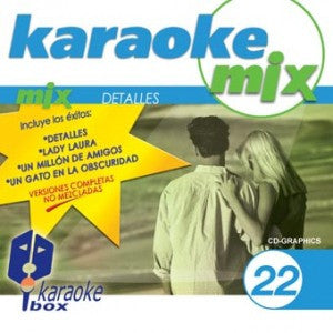 Karaoke Box Mix Series MIX022 Detalles