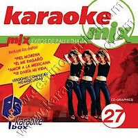 Karaoke Box MIX-027 Exitos De Thaila Y Pau