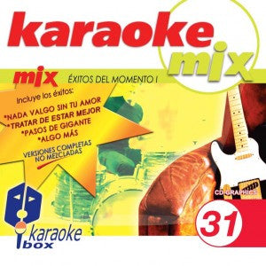 Karaoke Box Mix Series MIX031 Exitos Del Momento 1