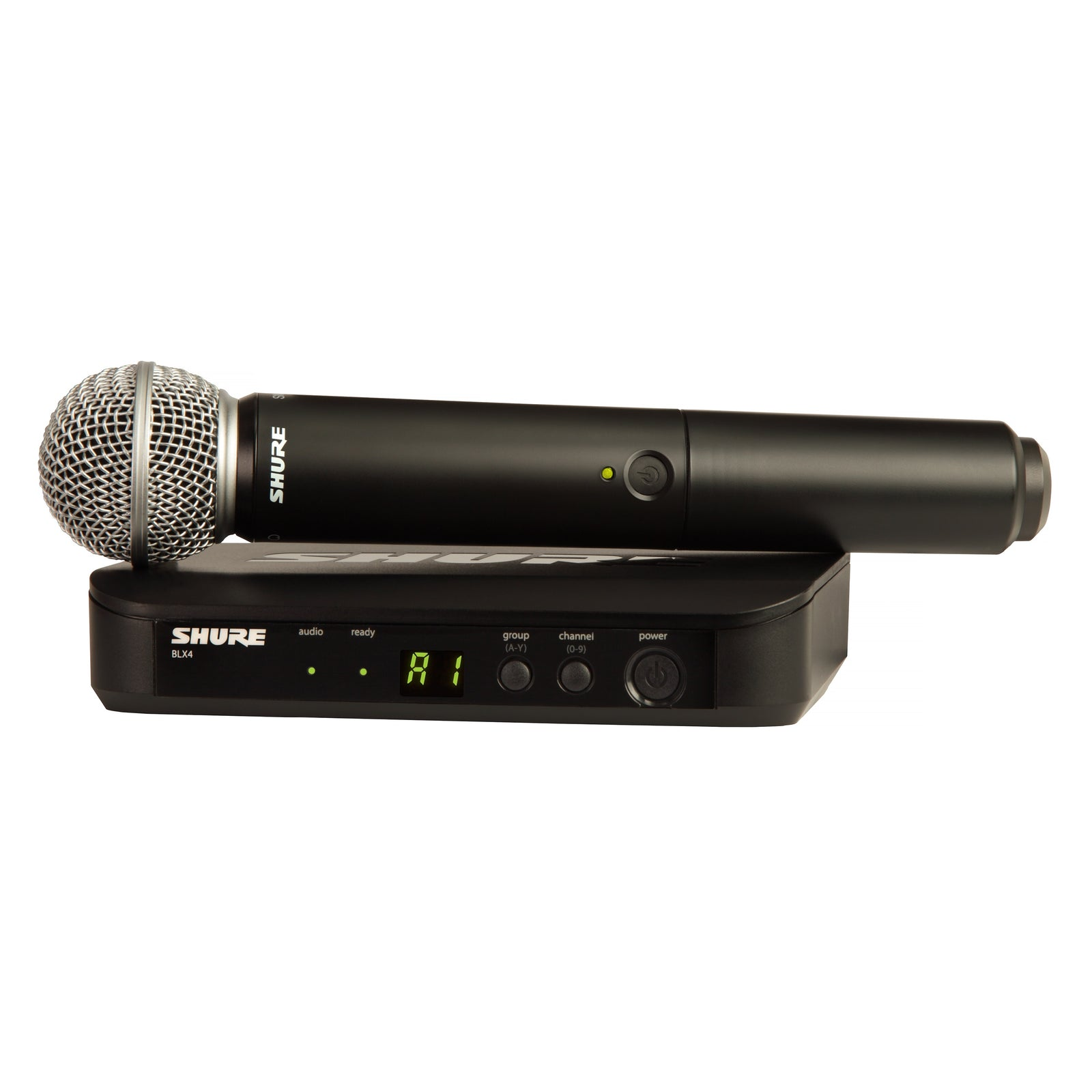 Shure BLX24/SM58 Handheld Wireless Microphone System
