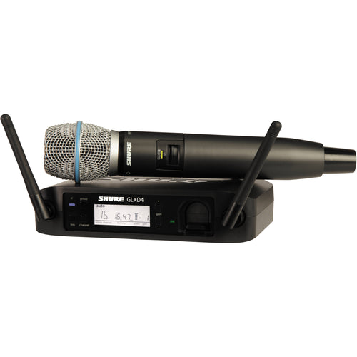 Shure GLXD24/Beta87A Digital Handheld Wireless Microphone (Single)