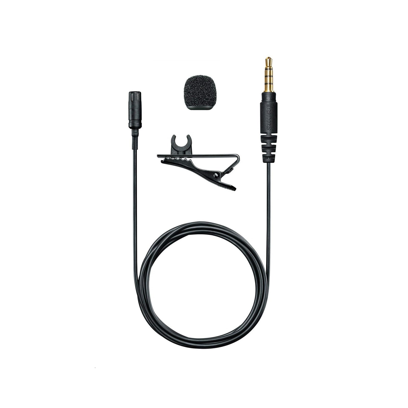 Shure MVL - Lavalier Condenser Microphone for iOS and Android