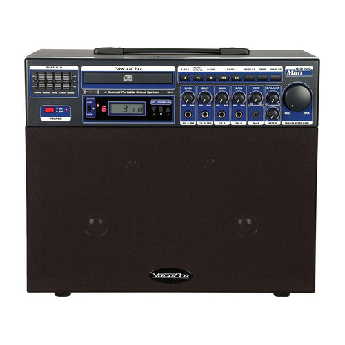 VocoPro Soundman-2 Multi-Format 4 Channel Portable Sound System