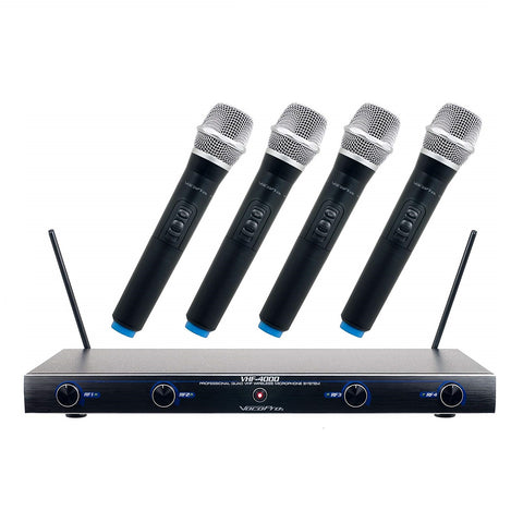 VocoPro UDH-Dual-H Hybrid Wireless Microphone System