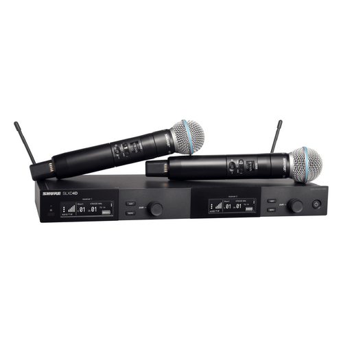 Shure SLXD24D/Beta58 Dual Handheld Wireless System