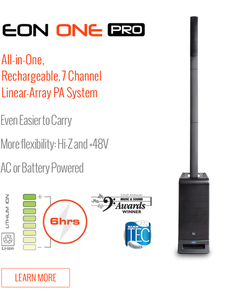 JBL Eon One Pro Line Array Portable Rechargeable Speaker System