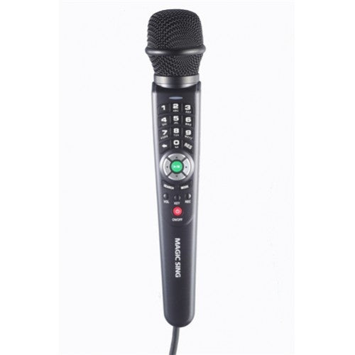 EnterTech Magic Sing ET-25K-TAG Tagalog/English Magic Sing Single Wired Microphone
