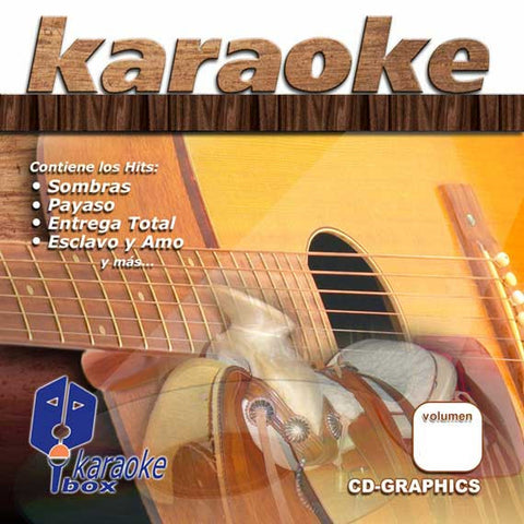 KARAOKE BOX KBO317 Exitos De Rock En Espanol Vol 11