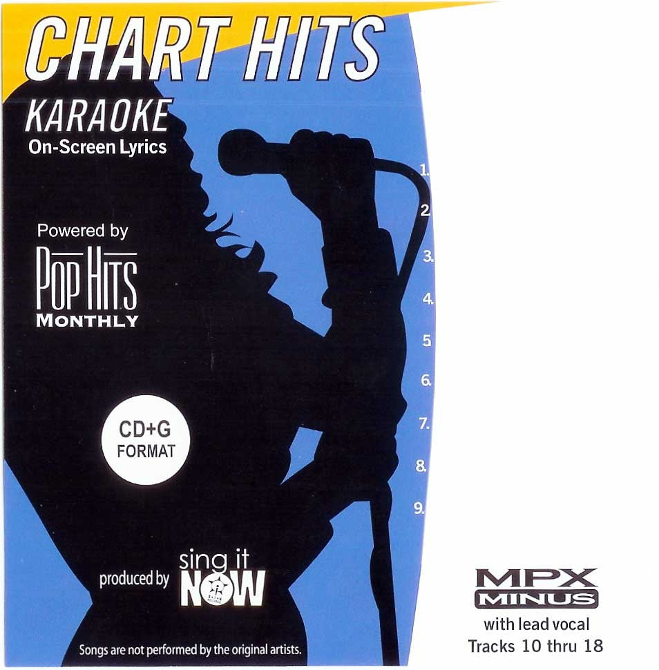 Pop Hits Monthly Classics Series PHCMP01 Pop Hits Monthly Male Pop Vol. 1