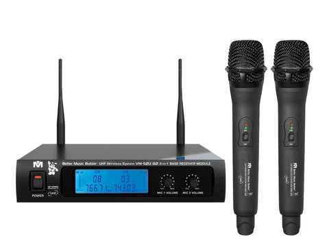 Shure BLX288/PG58 Dual Handheld Wireless Microphone System (Pair)