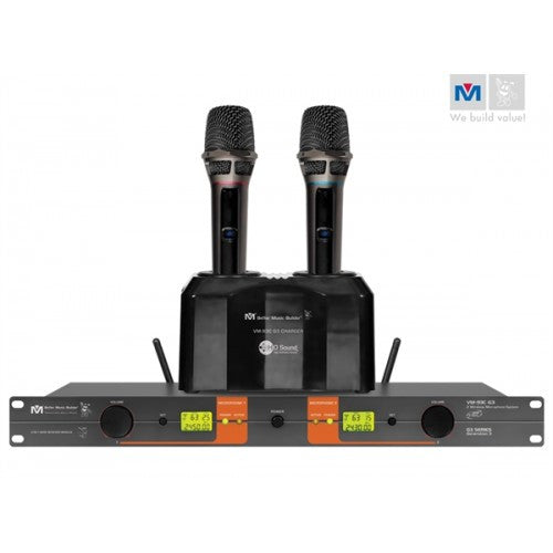 Better Music Builder VM-93C G3 UHF Rechargeable Wireless Microphone System