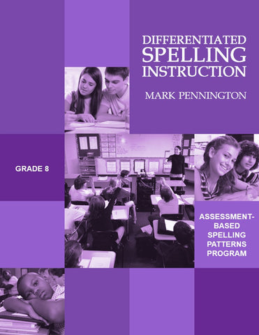 Differentiated Spelling Instruction Grade 8 | Digital Options