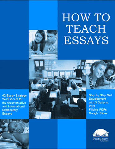 How to Teach Essays