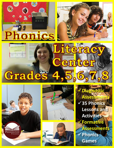 Phonics Literacy Center