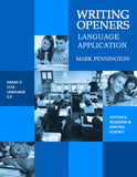 Writing Openers Language Application Grades 4, 5, 6, 7, and 8 (eBooks)