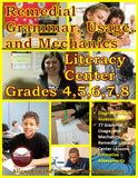 Remedial Grammar, Usage, and Mechanics Literacy Center (eBook)