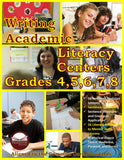 Writing Academic Literacy Center Grades 4, 5, 6, 7, and 8