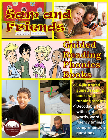 Sam and Friends Guided Reading Phonics Books (eBooks)