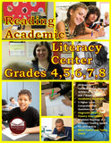 Reading Academic Literacy Center Grades 4–8