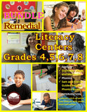 Remedial Literacy Centers BUNDLE