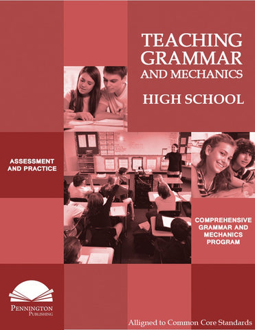 Teaching Grammar and Mechanics for High School