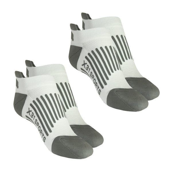 Low Cut No Show Running Socks 2-Pairs