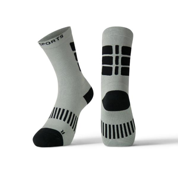 Performance Athletic Crew Socks with Cushion