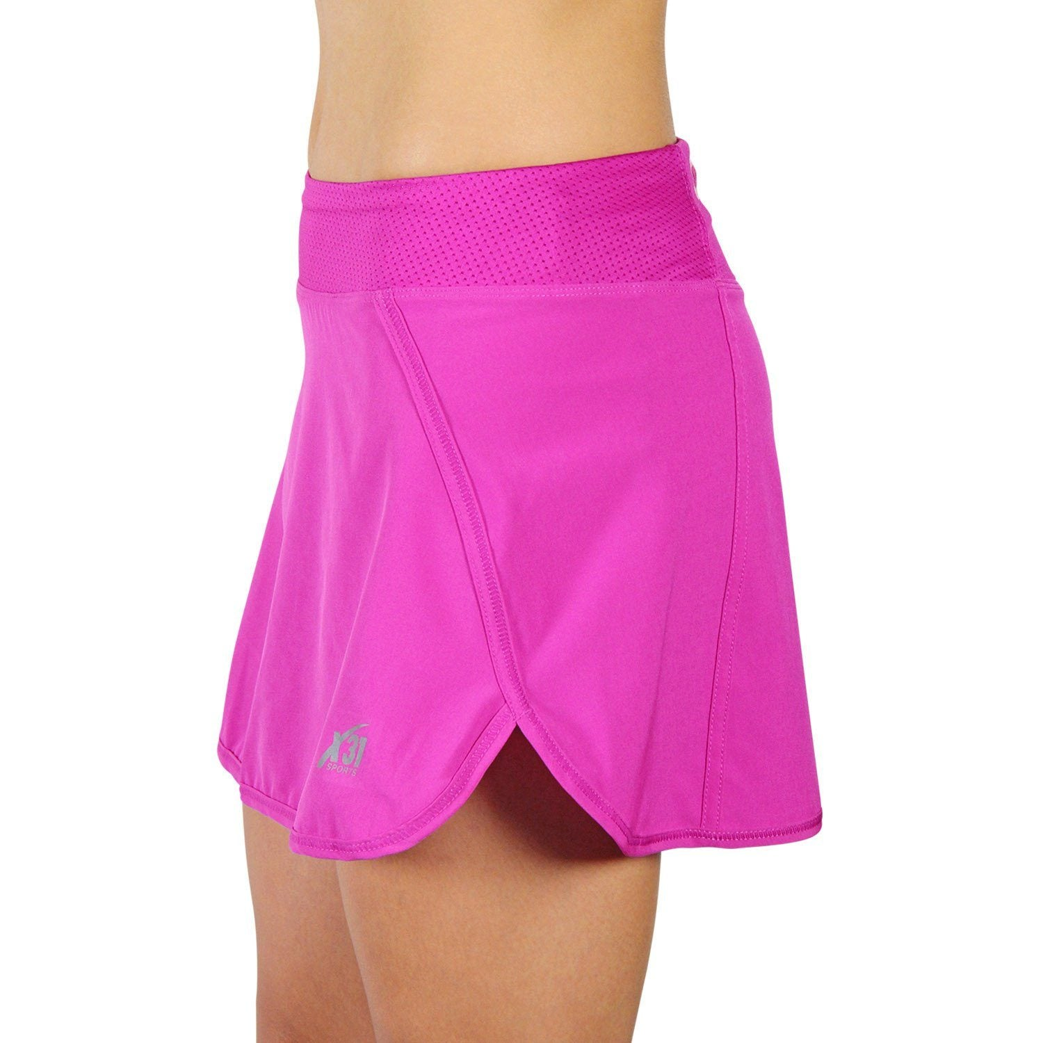 654ab7f4b Running Skirt, Workout Skort with Shorts and Zipper Pocket