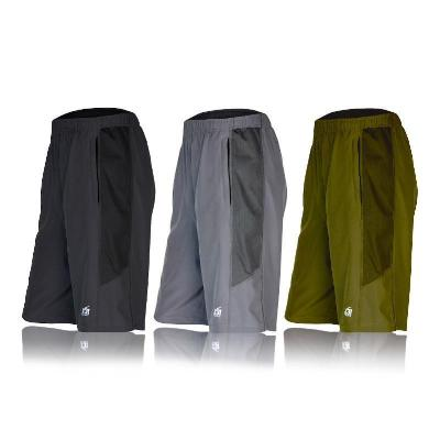 Mens Athletic Shorts with Zippered Pockets