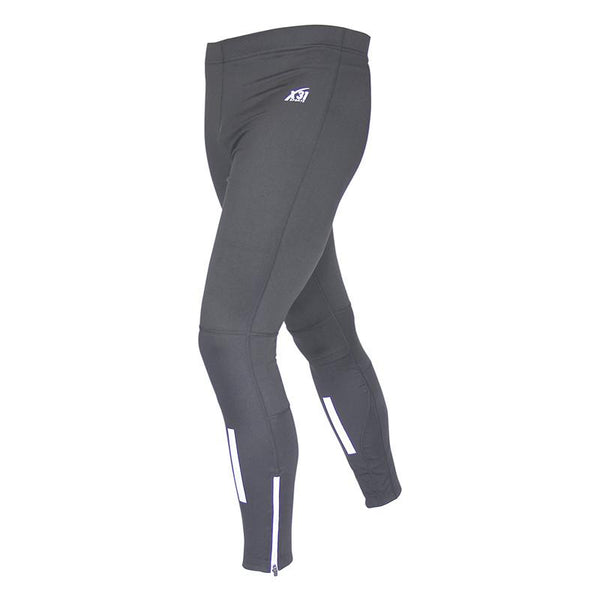 Mens Running Tights with Zipper Pocket