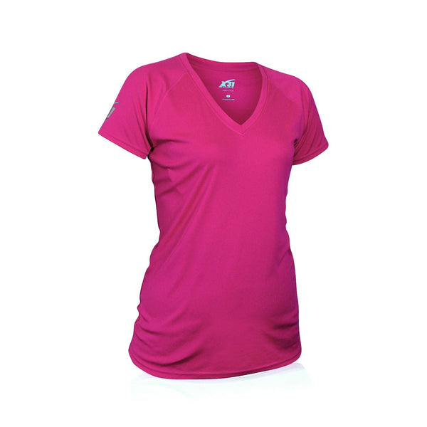 Womens Performance V-Neck Workout T-Shirt
