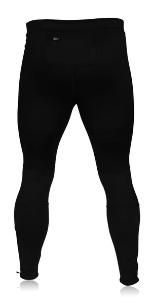Menu0026#39;s Running Tights Pants Leggings with Zipper Pockets