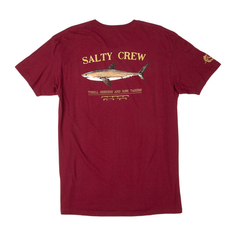 salty Crew shirt sleeve t-shirt.