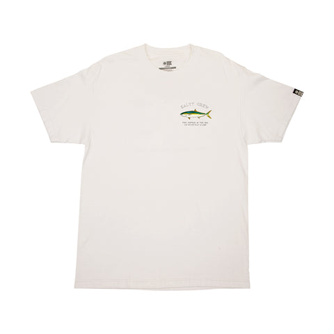 Mossback White S/S Standard Tee