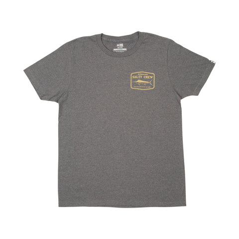 Stealth Grey Heather S/S Boys Tee