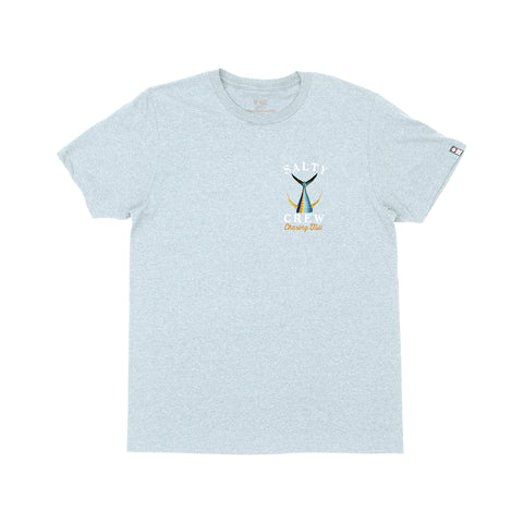 Tailed Light Blue Heather S/S Tee