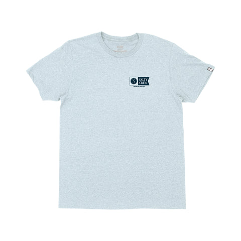 Alpha Light Blue Heather S/S Tee