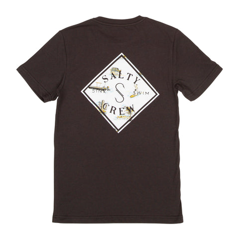 Tippet Nomad S/S Black Boys Tee