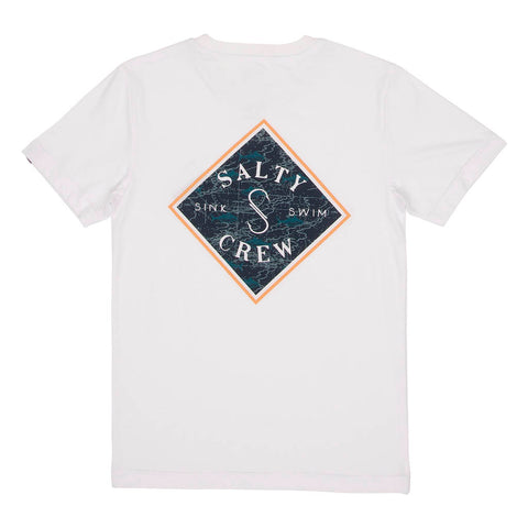 Tippet Nomad S/S White Boys Tee