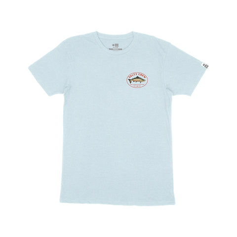 King Sal Light Blue Heather S/S Premium Tee