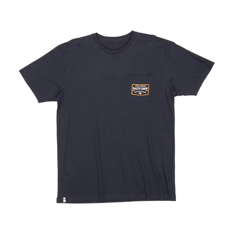 Topstitch Navy S/S Pocket Tee