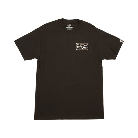 Pierside Black S/S Tee